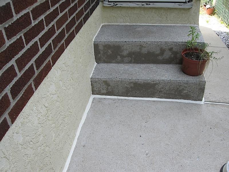 Caulking Concrete Walls : Handyman scssince