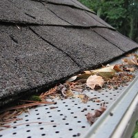9 keep leaves and pine needles out of your gutters