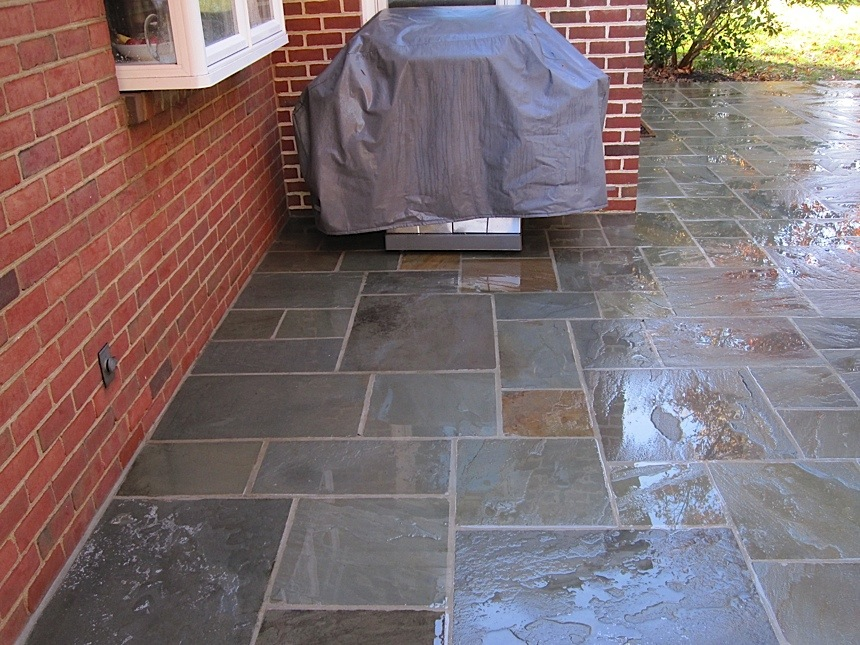 Flagstone Patio Pressure Cleaning
