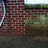 Clean vs Dirty brick