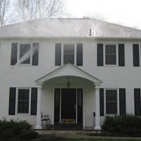 Low pressure stucco cleaning King of Prussia