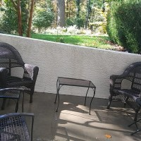 concrete patio cleaning
