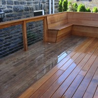 Deck pressure cleaning and sealing