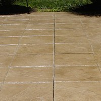 STAMPED CONCRETE CLEANING