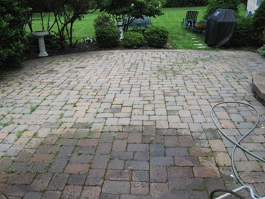 Paver Power Washing