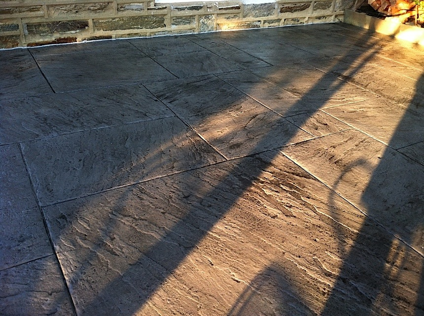 Stamped concrete cleaning for Natural concrete cleaner