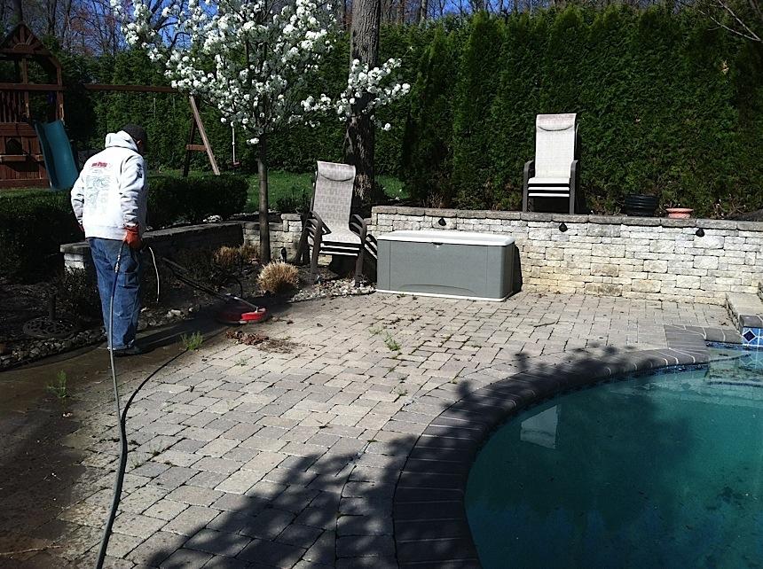 Paver Power Washing