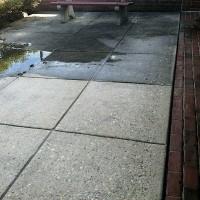 Concrete slip resistant coating prep