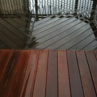 Ipe Brazilian Hardwood cleaning and sealing