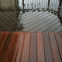 Ipe' Deck Cleaning