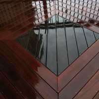 Ipe' Hardwood deck restoration