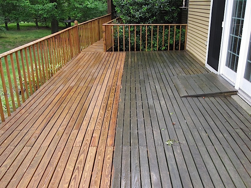 Deck washing service super service award winners bbb for Pressure treated decking