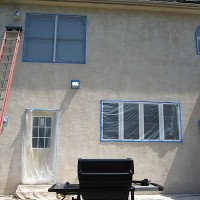 Stucco waterproofin