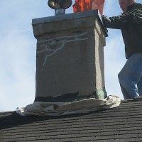 chimney restoration waterproofing