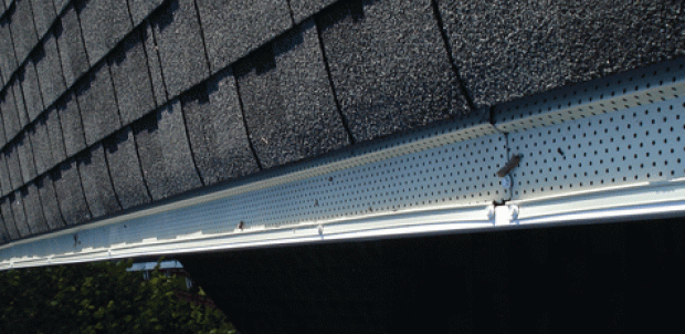 Main Line gutter cleaning